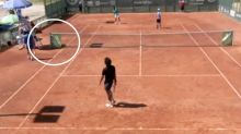 'Never seen that': Tennis world baffled by one-in-a-million anomaly