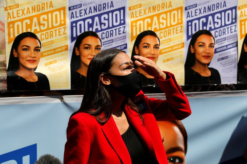 AOC and other liberals, minorities gain in U.S. congressional primary races