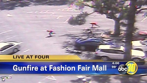 Surveillance video: Shooting at Fresno's Fashion Fair Mall