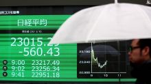 Asian markets pull back after Iranian missile attack