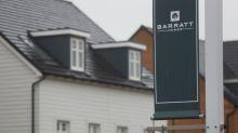 Homebuilder Barratt's volumes drop by a third, but order book thickens