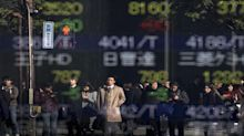 Asian shares largely gain, but Chinese stocks stumble