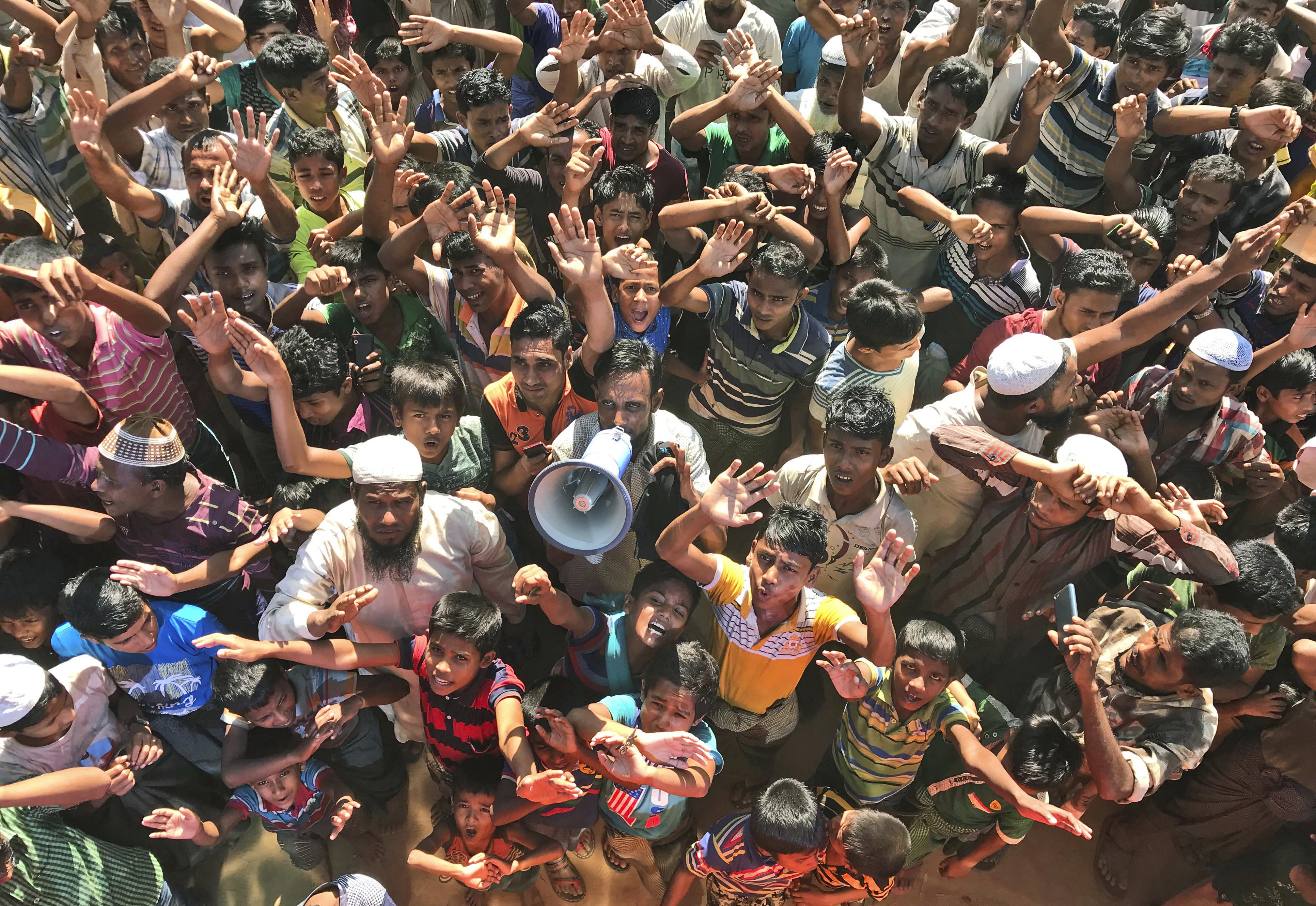 Bangladesh making 2nd attempt to return Rohingya to Myanmar