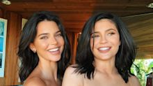 Kendall Jenner and 'Alien Sister' Kylie Practice Their Pouts in Matching-Makeup Selfies
