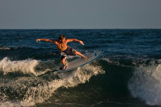 """<p><b><br>Hawaii<br><br></b></p><p><i>Surfing<br><br></i></p><p>Before Kelly Slater and Laird Hamilton were carving waves, the ancient Hawaiians were carving special trees into thin shaped boards and riding the water not as sport, but as an art form. <i>Credit: <a href=""""https://www.flickr.com/photos/fleur-design/2957704923/"""" rel=""""nofollow noopener"""" target=""""_blank"""" data-ylk=""""slk:Flickr/The Pug Father"""" class=""""link rapid-noclick-resp"""">Flickr/The Pug Father</a>.<br><br></i></p><p><b>Idaho<br><br></b></p><p><i>Television<br><br></i></p><p>While it's entirely possible we'd be much fitter and smarter without it, imagining a world without Seinfeld is too sad to bear. We can all thank Philo Farnsworth and his all-electronic """"image pickup device"""" for helping make the medium of television a reality.<br><br></p>"""