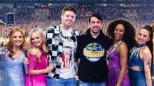 Pedida de matrimonio en el escenario junto a las Spice Girls