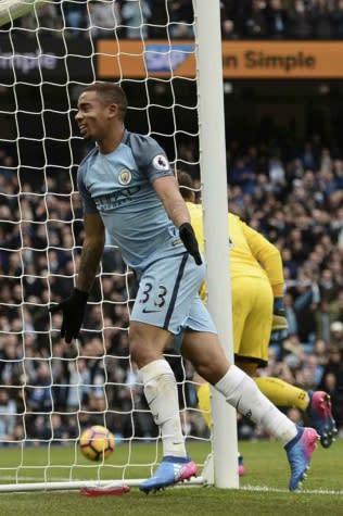 Jornal crava retorno de Gabriel Jesus ao City diante do Arsenal, em abril