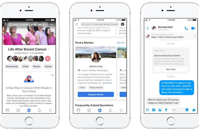 Facebook's latest grab bag of updates is all about 'community'