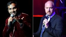 Should Aziz Ansari and Louis CK talk about accusations on stage?
