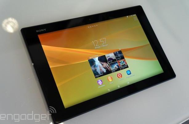 Sony's Xperia Z2 Tablet approved for the US of AT&T