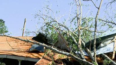 Raw: Early Report Shows EF-4 Tornado in Miss.