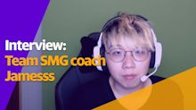 Jamesss on coaching Team SMG: 'I like to give myself a challenge'