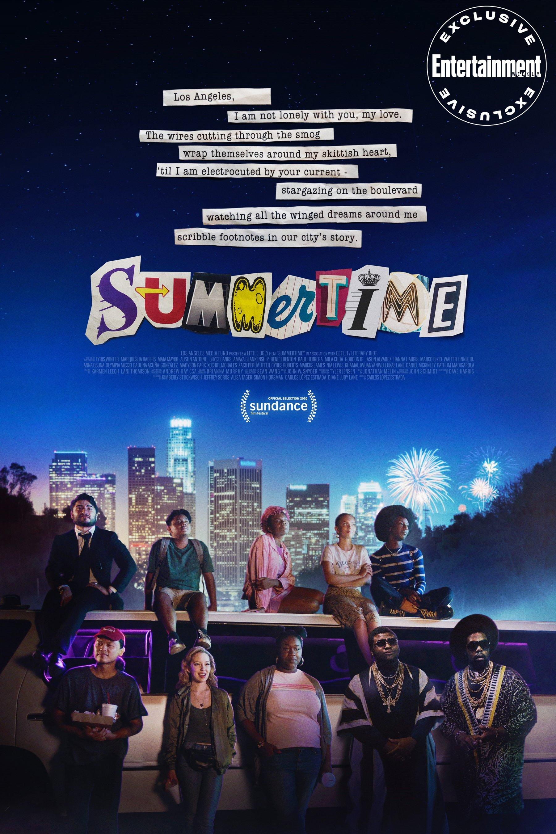See exclusive poster for Sundance spoken-word poetry film Summertime