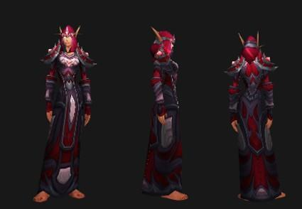 Outland reputation set - Mage: Evoker's Silk Battlegear
