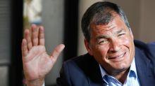 Designan a Rafael Correa como candidato a vicepresidente de Ecuador