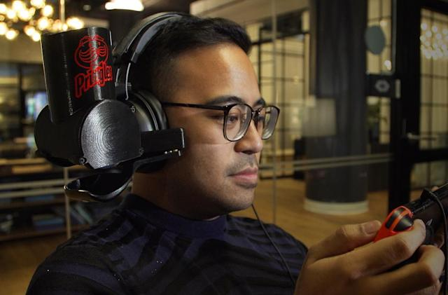 Pringles built a ridiculous gaming headset that feeds you chips