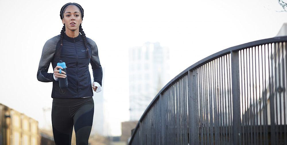Katarina Johnson-Thompson has teamed up with Brita to devise a 7-discipline workout