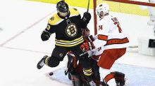 Why Bruins' controversial Game 1 goal vs. Hurricanes wasn't overturned