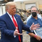 The owner of a destroyed Kenosha store refused to meet with Trump. So Trump replaced him with a former owner.