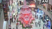 Delhi's Pacific Mall showcases replica of Ayodhya's Ram temple ahead of Diwali