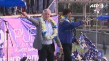 Evo Morales anhela otra victoria en reñidas elecciones en Bolivia