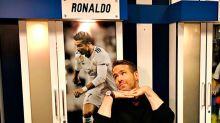 Ryan Reynolds se derrite con Cristiano Ronaldo