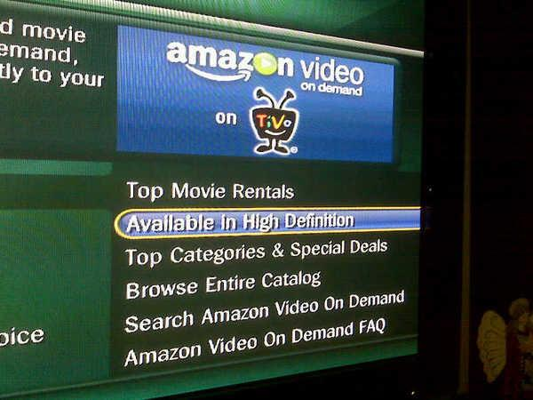 TiVo: Uh, please ignore that Amazon HD menu thing, we're just testing