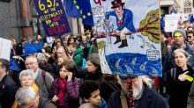 Anti-Brexit protesters stage mass rally in London