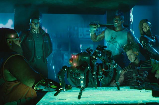 The PS4 version of 'Cyberpunk 2077' will work on PS5 at launch