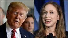 Call 911, Chelsea Clinton Just Burned Donald Trump Bad