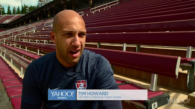 U.S. soccer star Tim Howard on why he embraces his Tourette syndrome