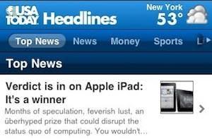 Edward C. Baig: iPad is a winner