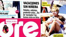 Shakira se fue de vacaciones y dejó en casa el glamour