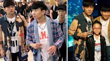 Jay Chou and JJ Lin spotted having bro-time at Sim Lim Square and Sentosa