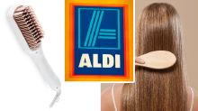 'Amazing' $25 Aldi straightening brush hits Special Buys this week