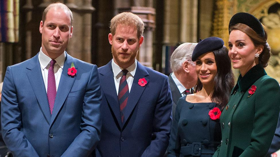 Royal Fab Four 'rift is getting so bad'