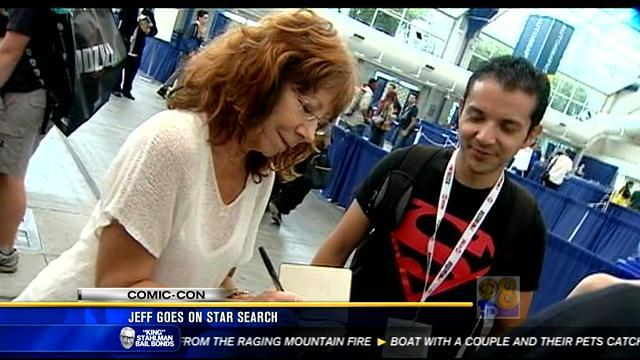 Jeff goes on a star search at Comic-Con