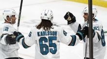 The Latest: Sharks to open home schedule hosting in Arizona