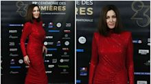 Monica Bellucci, espectacular de rojo en París