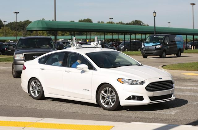 Ford previews the future of self-driving vehicles