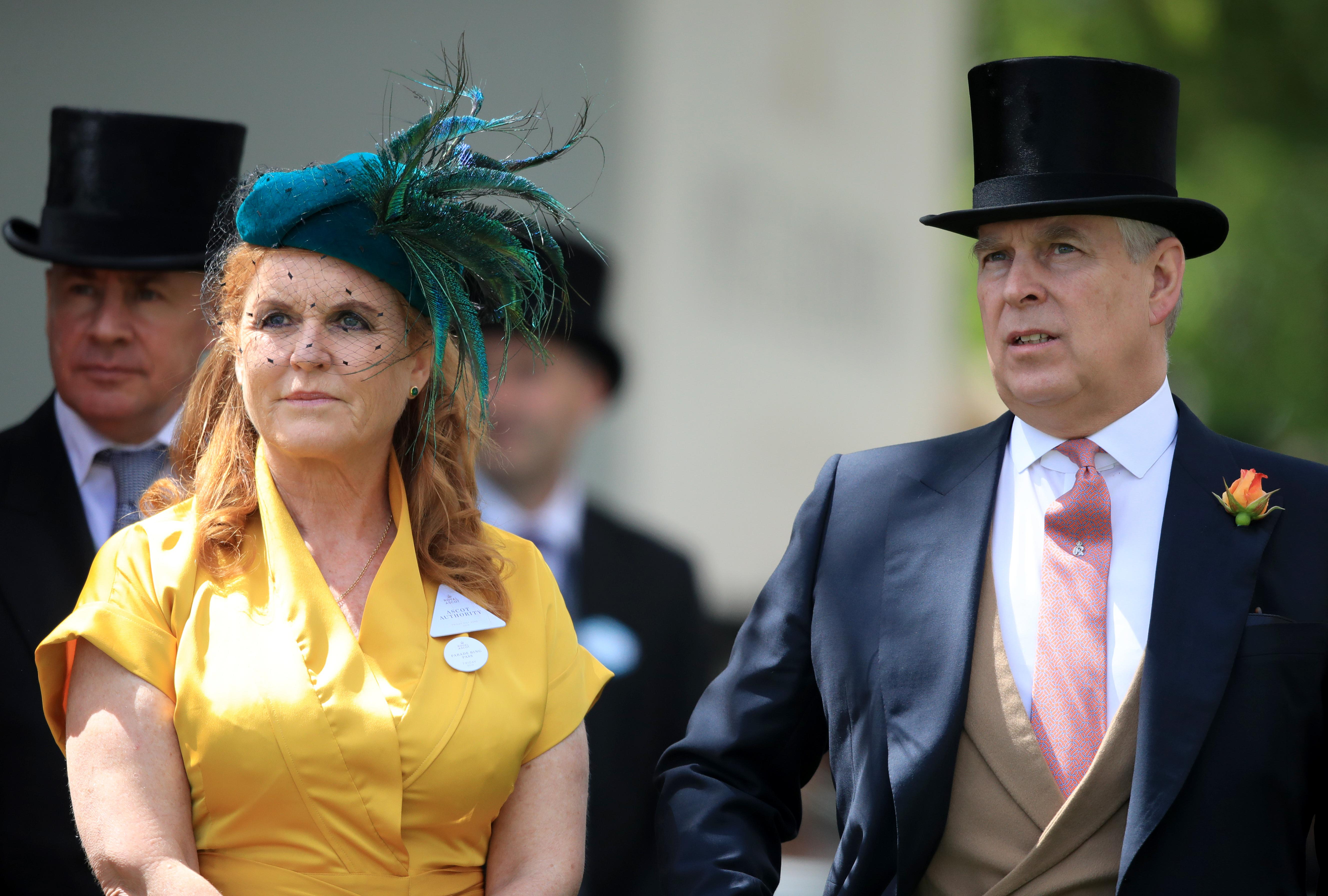 Sarah Ferguson And Prince Andrew Reportedly Fly To Malaga