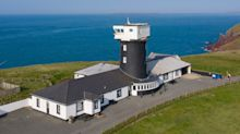 Rooms with a view: This converted lighthouse has gone on sale for just under £1million