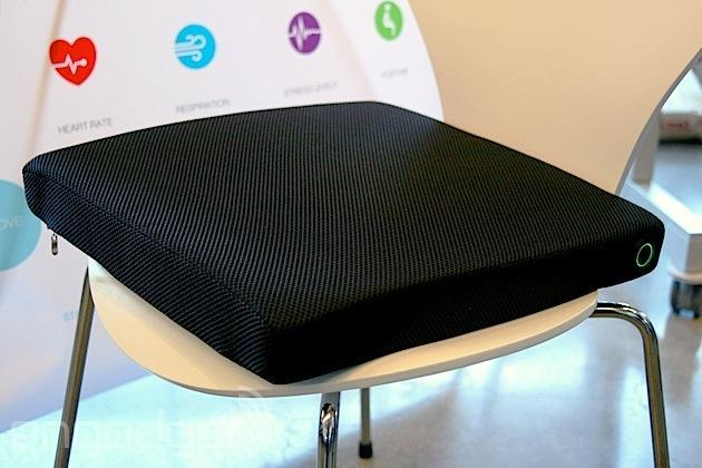 Smart cushion reads your vitals, nags you not to slouch or stress