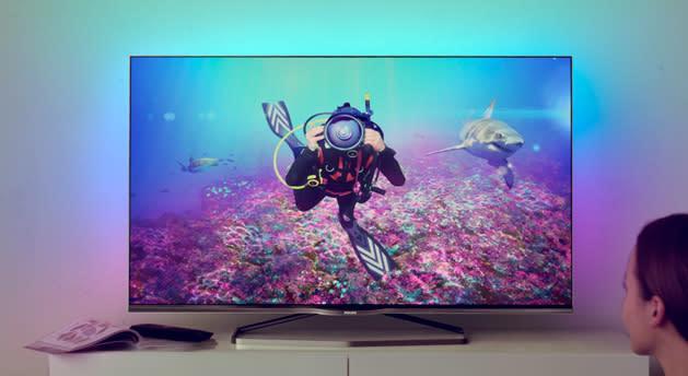 Philips apuesta por TVs 4K más manejables y con Android