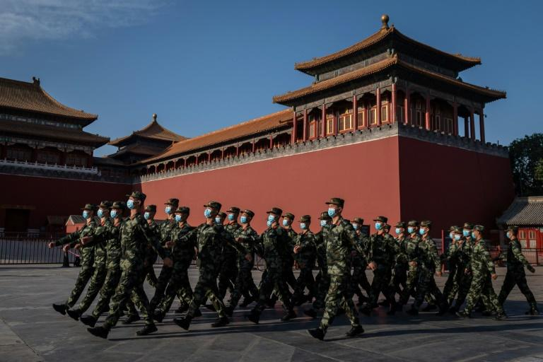 President Donald Trump's administration has demanded that China take part in talks on a successor to the New START treaty, which caps the nuclear warheads of the United States and Russia (AFP Photo/NICOLAS ASFOURI)