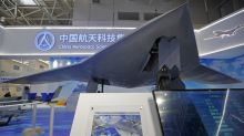 China unveils stealth combat drone in development