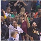 LeBron James' finger roll layup was so good, the Cavs' bench had to reenact it