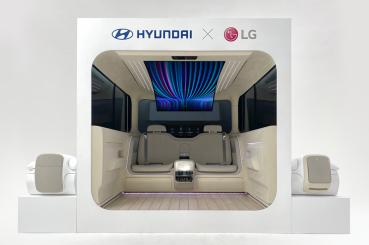 Hyundai釋出未來風格滿載的Ioniq概念車室