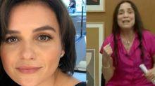 """Monica Iozzi questiona Regina Duarte: """"Existe coração?"""""""