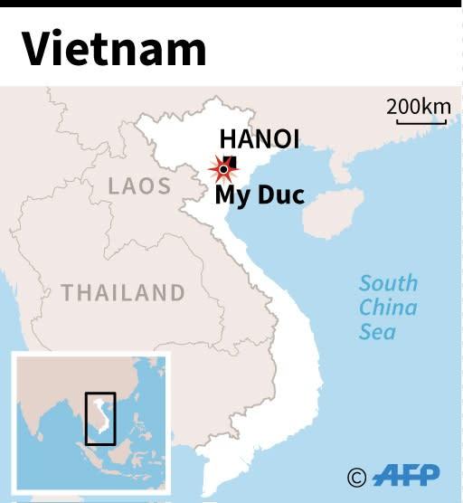 Vietnam village sealed off as hostage crisis deepens